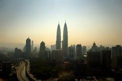 Vista de Kuala Lumpur Fotografía de archivo libre de regalías