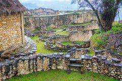 Vista de Kuelap, Perú fotografía de archivo libre de regalías