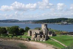 Vista de la abadía Imagen de archivo libre de regalías
