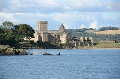 Vista de la abadía Fotos de archivo