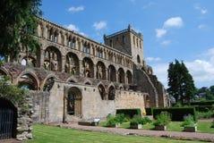 Vista de la abadía de Jedburgh Foto de archivo libre de regalías