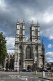 Vista de la abadía de Westminster Fotografía de archivo libre de regalías