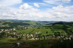 Vista de la aldea Fotos de archivo libres de regalías
