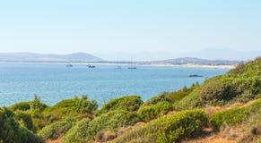 Vista de la bahía Fotografía de archivo libre de regalías