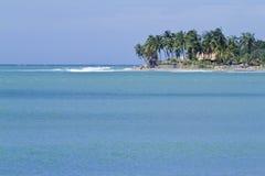 Vista de la bahía de Arugam, Sri Lanka Foto de archivo libre de regalías