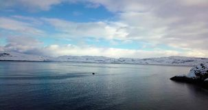 Vista de la bahía del norte metrajes