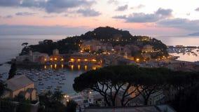 Vista de la bahía del silencio Imagen de archivo