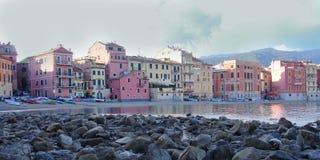 Vista de la bahía del silencio Fotos de archivo libres de regalías