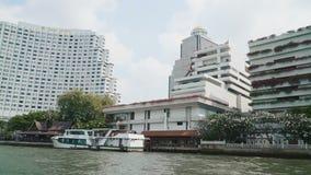 Vista de la Bangkok del barco