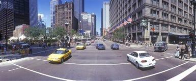 Vista de la calle del estado Imagen de archivo