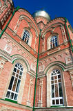Vista de la catedral de debajo Fotografía de archivo libre de regalías