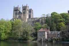 Vista de la catedral de Durham Foto de archivo libre de regalías