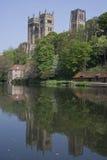 Vista de la catedral de Durham Fotografía de archivo