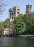 Vista de la catedral de Durham Foto de archivo