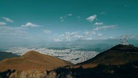 Vista de la ciudad metrajes