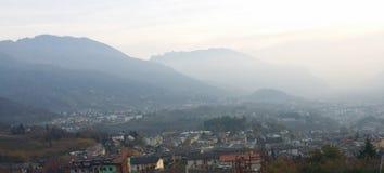 Vista de la ciudad Imágenes de archivo libres de regalías