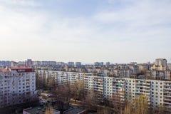 Vista de la ciudad Imagen de archivo libre de regalías