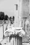 Vista de la ciudad antigua de Ephesus Imágenes de archivo libres de regalías