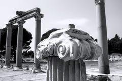Vista de la ciudad antigua de Ephesus Fotografía de archivo libre de regalías