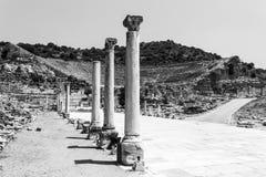 Vista de la ciudad antigua de Ephesus Imagenes de archivo