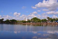 Vista de la ciudad de Buriram Imagenes de archivo