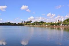Vista de la ciudad de Buriram Fotografía de archivo libre de regalías