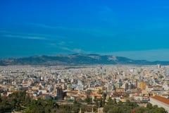 Vista de la ciudad de Atenas, Grecia Imagen de archivo libre de regalías