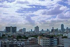 Vista de la ciudad de Bangkok Imagenes de archivo