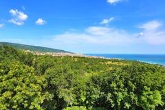 Vista de la ciudad de Burgas Foto de archivo