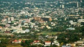 Vista de la ciudad de Chiang Mai Imágenes de archivo libres de regalías