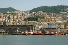 Vista de la ciudad de Génova, Italia Fotografía de archivo libre de regalías