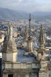 Vista de la ciudad de Granada foto de archivo