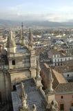 Vista de la ciudad de Granada imagen de archivo