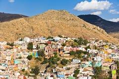 Vista de la ciudad de Guanajuato, México Imagen de archivo libre de regalías