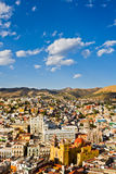 Vista de la ciudad de Guanajuato, México Fotos de archivo libres de regalías