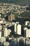 Vista de la ciudad de Juiz de Fora, Minas Gerais, el Brasil Imagen de archivo