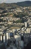 Vista de la ciudad de Juiz de Fora, Minas Gerais, el Brasil Foto de archivo libre de regalías