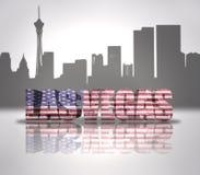 Vista de la ciudad de Las Vegas libre illustration