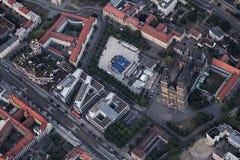Vista de la ciudad de Magdeburgo Foto de archivo libre de regalías
