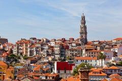 Vista de la ciudad de Oporto Foto de archivo