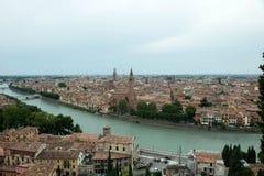 Vista de la ciudad de Verona imagen de archivo libre de regalías