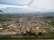 Vista de la ciudad del cielo Cerdeña, Cagliari Belleza de la naturaleza fotos de archivo