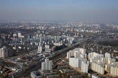 Vista de la ciudad grande Fotos de archivo libres de regalías
