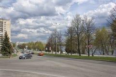 Vista de la ciudad Nizhny Tagil imagen de archivo libre de regalías