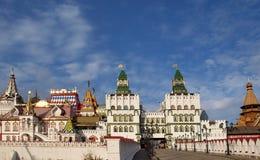 Vista de la ciudad rusa vieja Imagenes de archivo