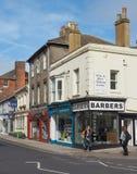Vista de la ciudad de Salisbury imagen de archivo