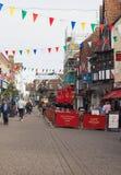 Vista de la ciudad de Salisbury fotos de archivo