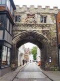 Vista de la ciudad de Salisbury imagenes de archivo