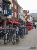Vista de la ciudad de Salisbury fotografía de archivo libre de regalías