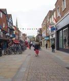 Vista de la ciudad de Salisbury foto de archivo libre de regalías